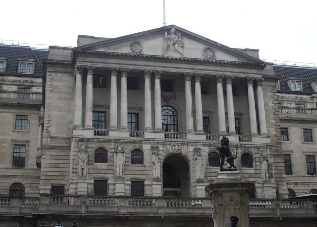 London Bank of England