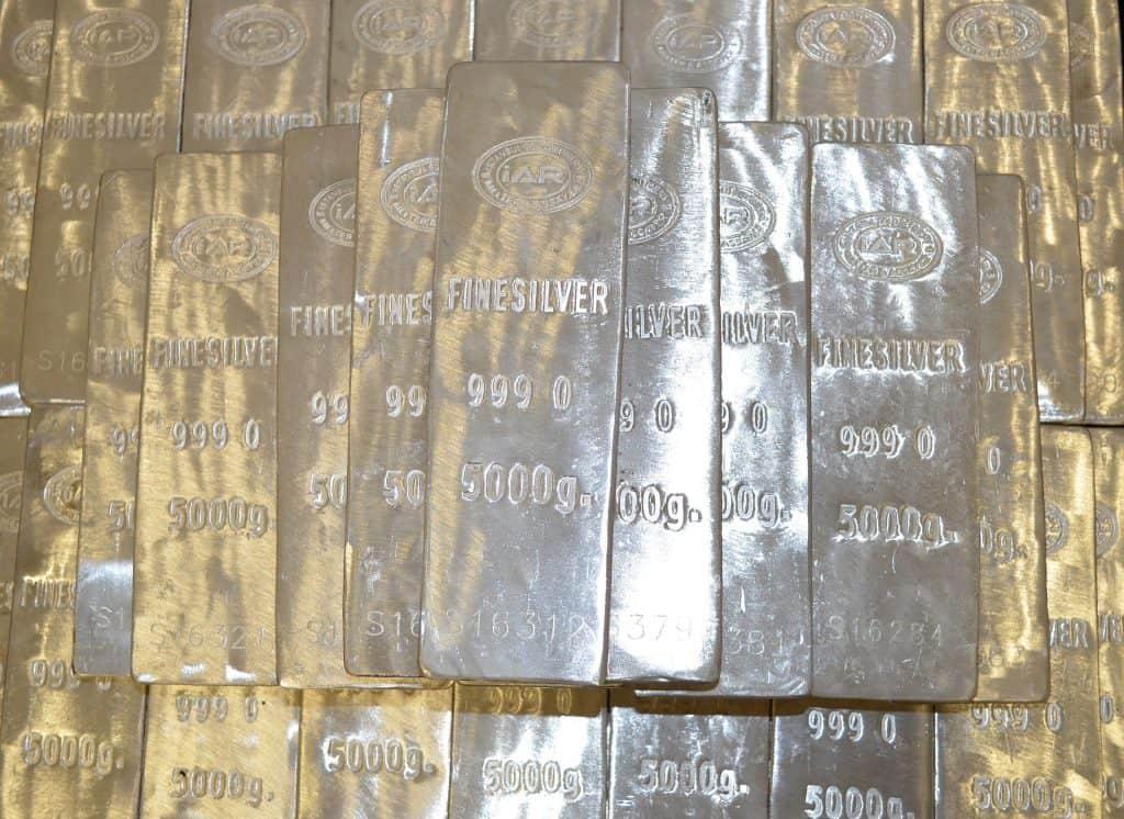 Silver Half Kilo Bars